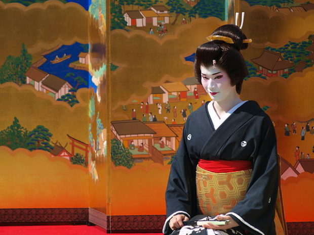 Geisha are traditional, female Japanese entertainers whose skills include performing various Japanese arts such as classical music and dance.