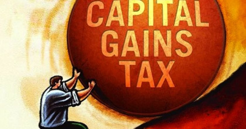 capital gains tax scam