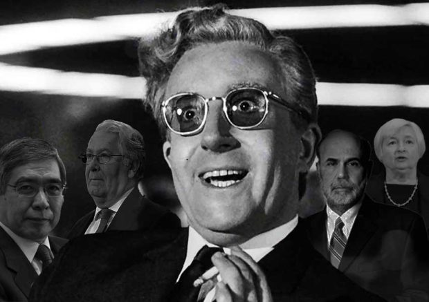 Dr. Strangelove central bankers