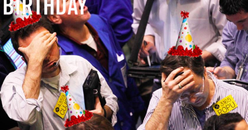 Happy 5th Birthday, Dear Financial Crisis