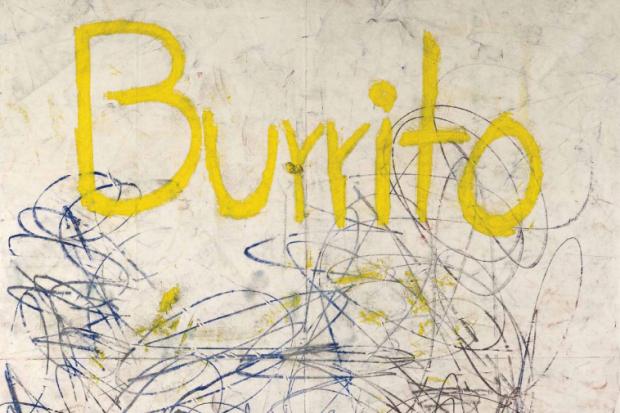 Untitled (Burrito) - Oscar Murillo -