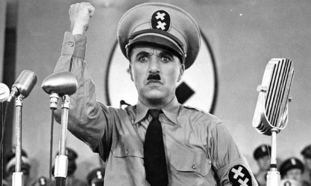 """No laughing matter"" Charplin Dictator"