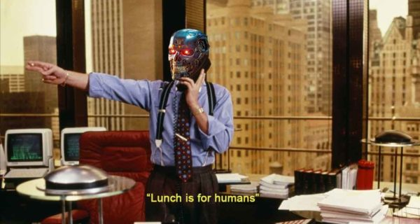 Lunch is for humans